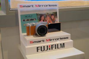 ฟูจิฟิล์มรุกตลาดพร้อมสร้างปรากฏการณ์ใหม่ กับกล้อง X-A7 Smart Mirrorless ครั้งแรกของประเทศไทย กล้องดิจิตอลที่รวมทุกการใช้งานผ่านเมนูอัจฉริยะ Smart Menu ทำให้การถ่ายภาพง่ายขึ้นพร้อมไฟล์ภาพคุณภาพยอดเยี่ยม เหนือกว่าสมาร์ทโฟนหวังดันยอด มูลค่าส่วนแบ่งการตลาด (Value Share) 50% ภายในปีนี้