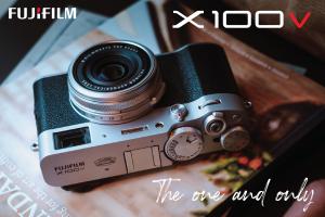 FUJIFILM X100V Digital Film Camera กล้องคอมแพคสุดคลาสสิค ฟังก์ชั่นเทพแบบกล้องฟิล์ม