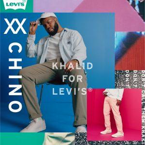 ลีวายส์® จับมือ คาลิด ดอนเนล ซูเปอร์สตาร์อาร์แอนด์บีระดับโลกออกคอลเลคชั่น LEVI'S® XX CHINO ลีวายส์® ไม่ได้มีแค่ยีนส์